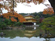 Kinkaku-ji - Temple of the Golden Pavilion in Kyoto