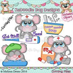 Cutie KaToodles - Get Well Soon Mice