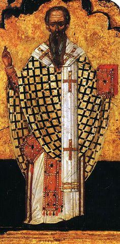 8 de abril:  San Dionisio el Areopagita.