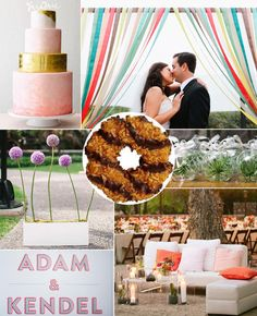 What Your Favorite Girl Scout Cookie Says About Your Wedding Style | Photo by: Clockwise from top left: Philip Ficks; Ala Cortez; Love Me Do Photography; Mel