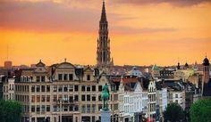 Un-día-en-Bruselas,-ruta-para-turistas