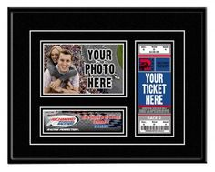 Richmond International Raceway Race-Day Ticket Frame by That's My Ticket. $50.00. Place holder for your race ticket that utilizes professional-grade mounting corners to preserve the condition and value of your ticket. Your ticket is the one item you can point to and say, I was there. That's My Ticket! Place holder for your standard 4-by-6 photo taken during your race-day experience. Includes easy-to-follow instructions for adding your ticket and photo. Double matted...