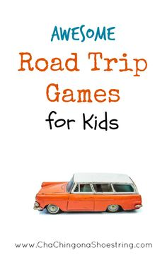 Going on a trip soon? Don't miss this list of awesome Road Trip Games and Activities for kids before you go. These fun ideas will entertain your kids for hours - no technology involved!