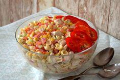 Sałatka z kurczakiem i papryką - Knurr.pl Salsa, Mexican, Ethnic Recipes, Food, Meal, Salsa Music, Restaurant Salsa, Essen, Hoods