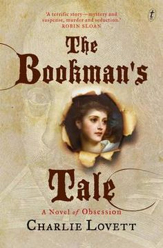 Australian cover of Bookman's Tale