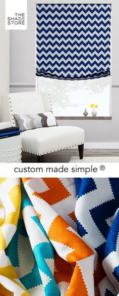 Custom Made Simple - Roman Shade - Limitless
