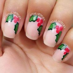 christmas by nailartbyjen #nail #nails #nailart