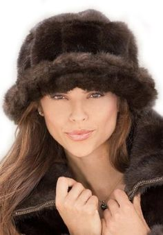 Woman Within Faux Fur Hat (Ranch Mink,0) Woman Within. $19.99