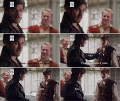 """Killian Jones, Henry and Happy - 5 * 8 """"Birth"""" #CaptainCobra --- Henry and Happy seems like they are Star-struck mode. :D"""