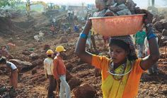 Bauxite mining - Orissa, India (Photo: Sayantan Bera)