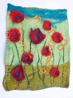 Ariane Mariane - art textile - feutre d'art: Freecolors by Héloïse
