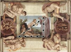 Michelangelo (1475–1564), Creation of Eve, Cappella Sistina, Vatican City.