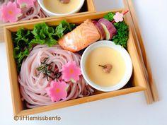Sakura Soba Bento 桜そばのお弁当 - Little Miss Bento