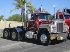 mack r model show truck - Google Search