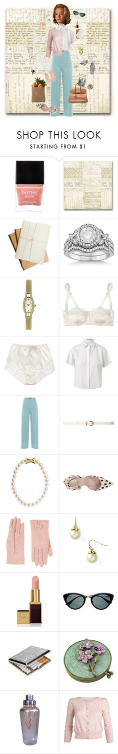 """Running Errands with Mrs.Draper"" by tdmonty ❤ liked on Polyvore featuring Butter London, Allurez, Elgin, SPANX, Dolce&Gabbana, Christopher Kane, Piazza Sempione, Dorothy Perkins, Ariella Collection and Kate Spade"