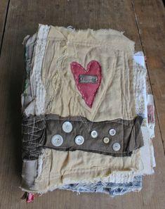 Love handmade book front cover Nellie Wortman