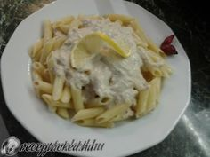 20 perces halas tészta Penne, Macaroni And Cheese, Meat, Chicken, Ethnic Recipes, Food, Mac And Cheese, Meals, Yemek