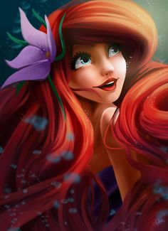 Ariel by MlleMalice.deviantart.com on @DeviantArt