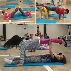 Partner yoga poses that can easily be done in the classroom Physical Education Activities, Elementary Physical Education, Elementary Pe, Pe Activities, Health And Physical Education, Partner Yoga, Yoga For Kids, Exercise For Kids, Family Yoga