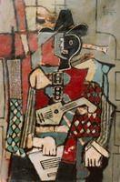Pablo Picasso. Arlequin1, 1917