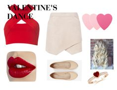 """-Will You Be My Valentine Outfit-"" by emma-victoria-e on Polyvore featuring Motel, BCBGMAXAZRIA, Sephora Collection, Express, women's clothing, women, female, woman, misses and juniors"