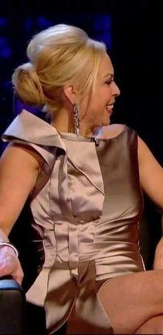 Jayne Torvill - So hot in this short dress