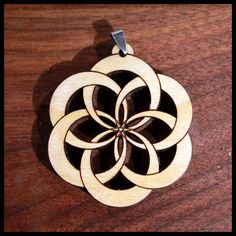 Flower of Life Knot Pendant - Naked Geometry