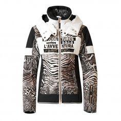 De #Sportalm Taiwo #winterjas is een luxe ski-jas voor dames waarbij verschillende dierenprints gecombineerd worden. Deze jas en meer Sportalm #skikleding vindt u bij De Wit Schijndel.