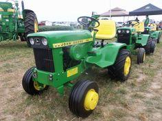 John Deere 140 Garden Tractor #2