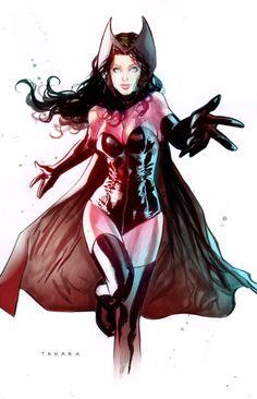 Scarlet Witch by marciotakara.deviantart.com on @deviantART