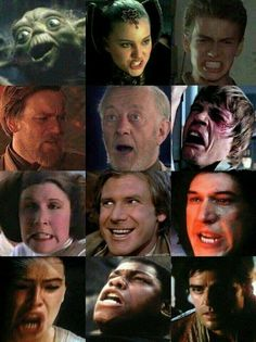 Star Wars Funny Faces