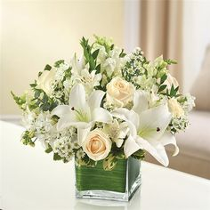 ALL WHITE HEALING TEARS | Capri Flowers