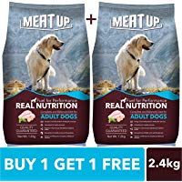 Meat Up Adult Dog Food 1 2 Kg Buy 1 Get 1 Free Adult Dogs