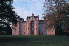 Fyvie Castle In Scotland