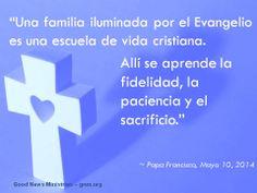 Pidamos al Espíritu Santo que siempre proteja a nuestras familias. Lee más en: www.twitter.com/Pontifex_es