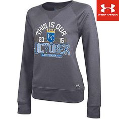 Kansas City Royals Women's This is Our October Crewneck Fleece by Under Armour - MLB.com Shop