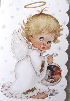 Morehead Baby Child Angel Halo Nativity Scene Christmas Holiday Greeting Card   eBay
