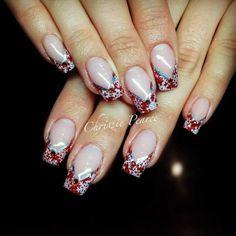 #nails #nailart #gelnails #NSI #NSINails #glitternails #handpaintednails #fakenails #acrylicnails #nailporn #nailartideas #nailideas #naildesigns #amazingnails #nailinspiration #notpolish #nailextensions #leopardprintnails #animalprintnails #blingnails #frenchnails #pinknails #3Dnailart #3Dnails