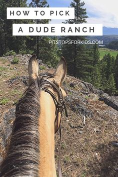 Pit Stops for Kids tells how to pick a dude ranch, plus gives examples of great dude ranches for families.