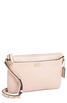 Just ordered this cute little light rose cross body purse for spring! Perfect and on sale! Coach Madison