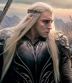 King Thranduil in the battle of five armies! Slaying some orcs!