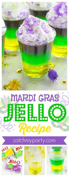 New seafood boil recipes mardi gras 26 Ideas Mardi Gras Drinks, Mardi Gras Desserts, Mardi Gras Food, Mardi Gras Party, Seafood Boil Recipes, Jello Shot Recipes, Drink Recipes, Boiled Food, Appetizers For Party