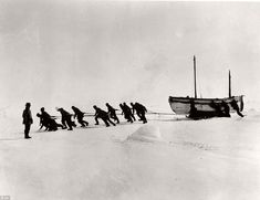 Vintage: Sir Ernest Shackleton's 1915 Expedition To The Antarctic | MONOVISIONS