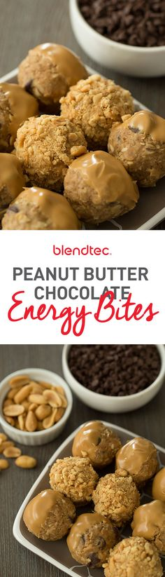 These 6-ingredient energy bites are the perfect pick-me-up for an afternoon (or morning) snack!