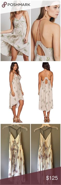 NWT Free People Embroidered High Low Fauna Dress So cute and perfectly on trend! Perfect for festival season! Brand new with tags. Size M. No trades!! Free People Dresses High Low