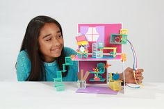 Very cool: This New Girl-Powered Engineering Toy Asks Kids To Design And Wire Their Own Dollhouse