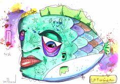 fish-head man