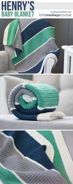 Henry's Crochet Baby Blanket.