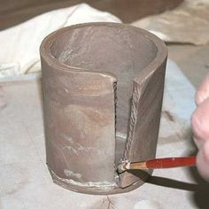 Follow These Steps to Learn How to Make a Slab-Built Pottery Mug