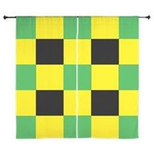 Shop Black and Yellow and Green Square Curtains designed by Adrianne_Desire. Lots of different size and color combinations to choose from. Curtain Designs, Shower Curtains, Black N Yellow, Green, Color, Colour, Colors